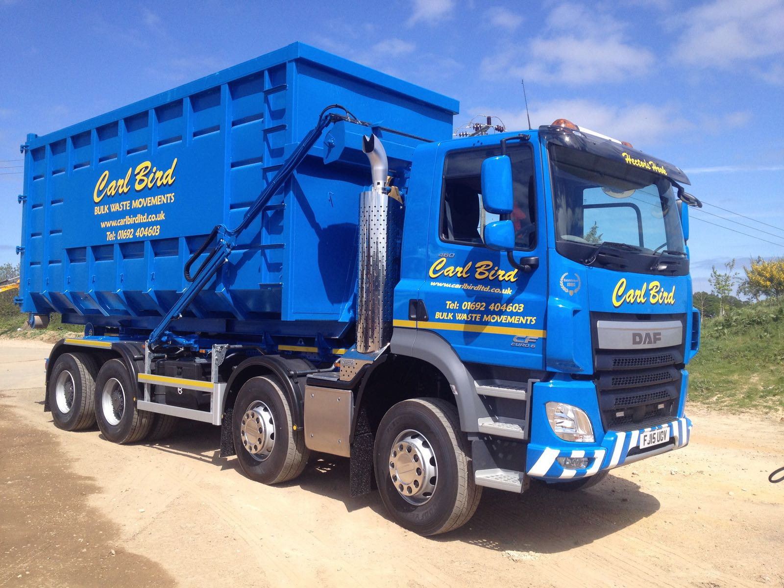 Carl Bird Skip Hire Lorry